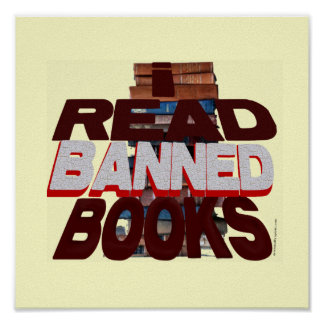 I Read Banned Books Poster