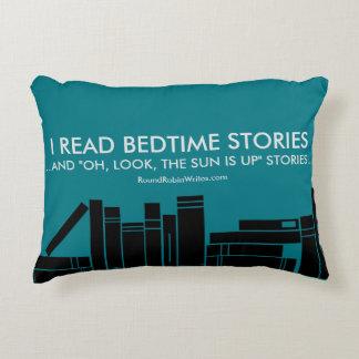 I Read Bedtime Stories (pillow) Decorative Cushion