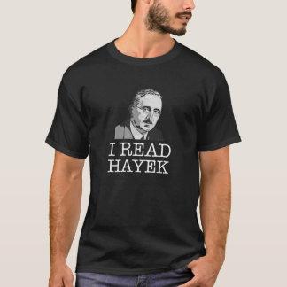 I read Friedrich Hayek libertarian T-Shirt