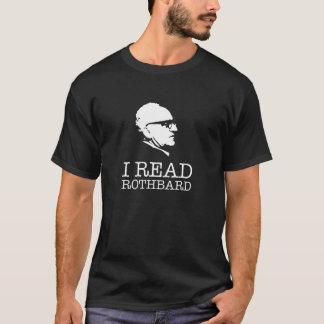 I read Murray Rothbard libertarian T-Shirt