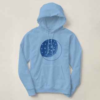 I Read Past My Bedtime Stylized Hoodie Design