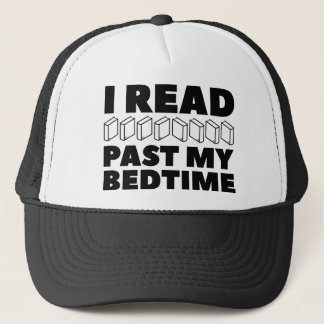 I Read Past My Bedtime Trucker Hat