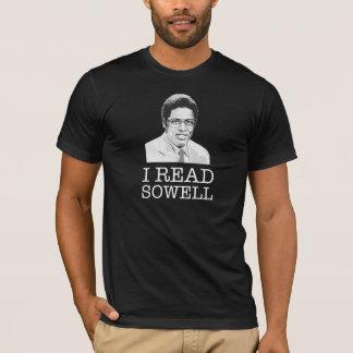 I read Thomas Sowell libertarian T-Shirt