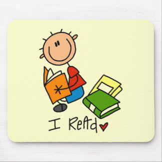 I Read Tshirts and Gifts Mouse Pad