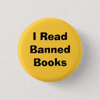I ReadBannedBooks 3 Cm Round Badge
