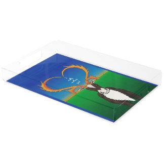 I Really Caribout You Acrylic Tray