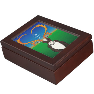 I Really Caribout You Keepsake Box