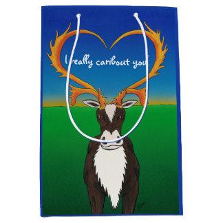 I Really Caribout You Medium Gift Bag