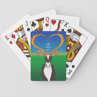 I Really Caribout You Playing Cards