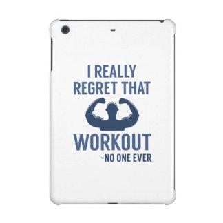 I Really Regret That Workout iPad Mini Case