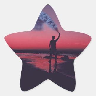 I Rebel Star Sticker