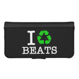 I Recycle Beats Phone Wallets