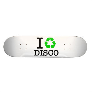I Recycle Disco Skate Board Deck