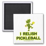 I Relish Pickleball Shirts & Gifts Fridge Magnet