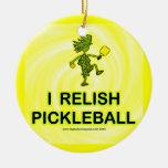 I Relish Pickleball Shirts & Gifts Ornament