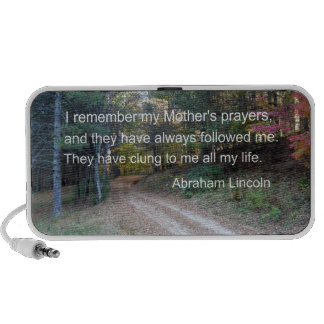 I remember my Mother s prayers iPod Speakers