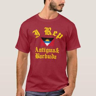 I rep Antigua and Barbuda T-Shirt