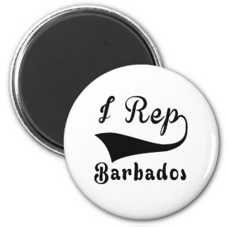 I Rep Barbados Magnet