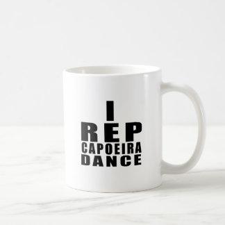 I REP CAPOEIRA DANCE DESIGNS COFFEE MUG