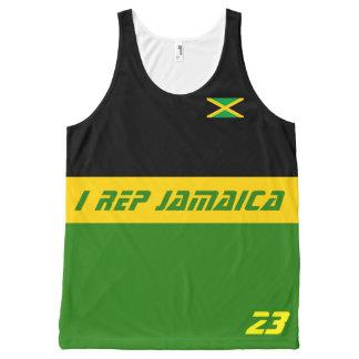 I rep Jamaica All-Over Print Singlet