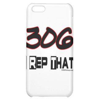 I Rep That 306 Area Code iPhone 5C Case