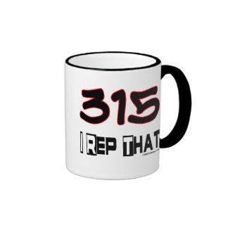 I Rep That 315 Area Code Coffee Mug