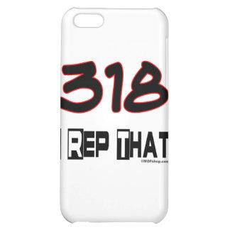I Rep That 318 Area Code iPhone 5C Cases