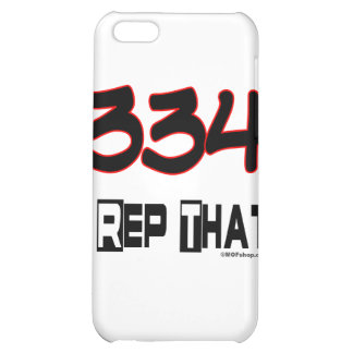 I Rep That 334 Area Code iPhone 5C Cover