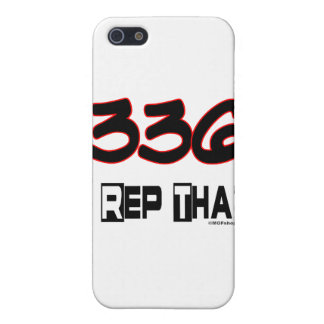 I Rep That 336 Area Code Cover For iPhone 5