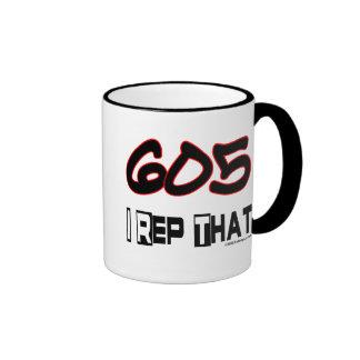 I Rep That 605 Area Code Mug
