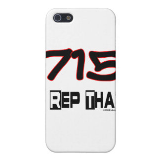 I Rep That 715 Area Code iPhone 5 Covers