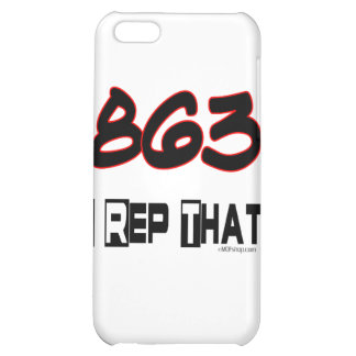 I Rep That 863 Area Code iPhone 5C Cover
