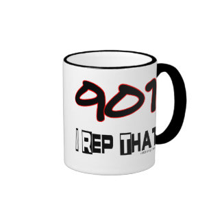 I Rep That 901 Area Code Mug