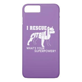 I RESCUE PIT BULLS iPhone 7 PLUS CASE