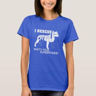 I RESCUE PIT BULLS T-Shirt