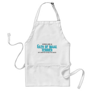 I Rescued a Glen of Imaal Terrier (Female Dog) Adult Apron