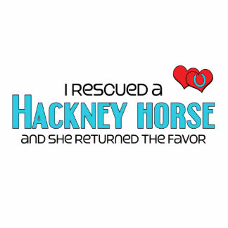 I Rescued a Hackney Horse (Female Horse) Photo Cutout