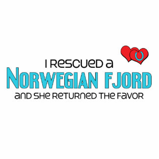 I Rescued a Norwegian Fjord (Female Horse) Cut Outs