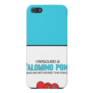 I Rescued a Palomino Pony (Male Pony) Case For iPhone 5