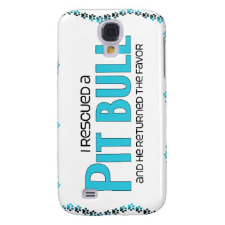 I Rescued a Pit Bull (Male Dog) Samsung Galaxy S4 Covers