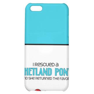 I Rescued a Shetland Pony (Female Pony) iPhone 5C Cases