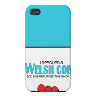 I Rescued a Welsh Cob (Female Pony) iPhone 4/4S Covers