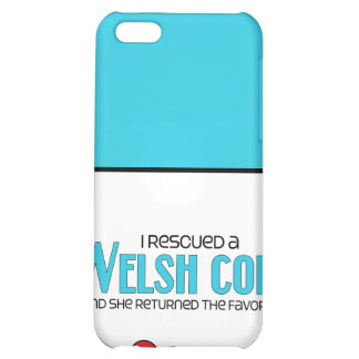 I Rescued a Welsh Cob (Female Pony) Cover For iPhone 5C