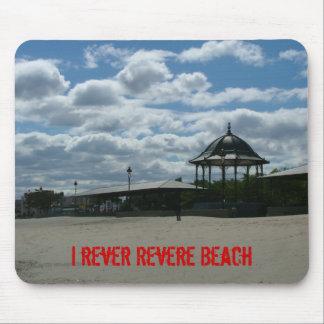 I rever Revere Beach Mouse Pads