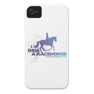 I Ride a Racehorse iPhone 4 Case