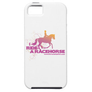 I Ride a Racehorse iPhone Case