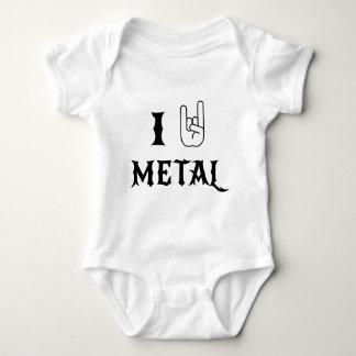I Rock Heavy Metal Baby Bodysuit