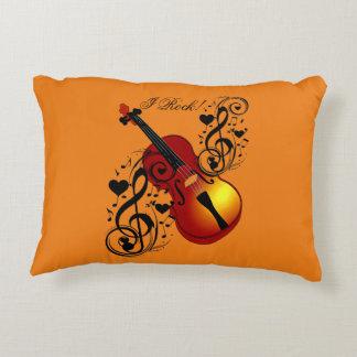 I Rock! Love my Violin!_ Decorative Cushion