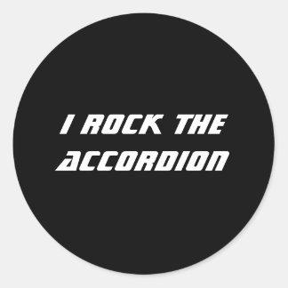 I Rock the Accordion Sticker