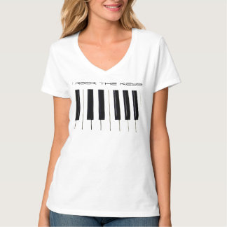 I Rock The Keys_ T-Shirt